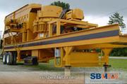 sbm- Мобильная дробилка для строительных отходов